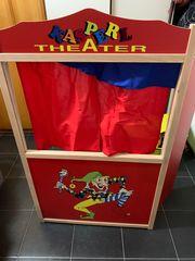 Kasperltheater mit Spielpuppen