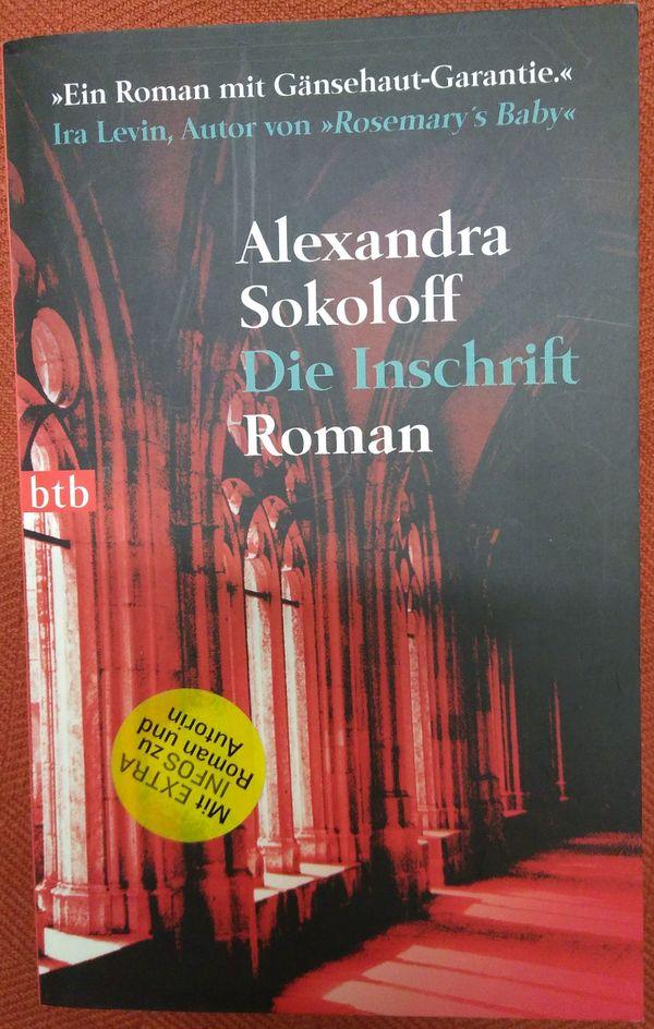 Buch Die Inschrift Alexandra Sokoloff -
