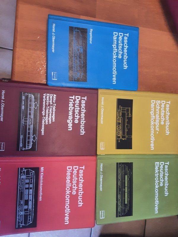 Taschenbücher Lokomotiven