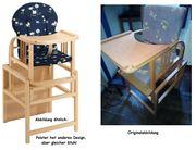 Storchenmühle - Kindersitztisch umwandelbar in Tisch