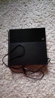 Sony Playstation PS 4 schwarz