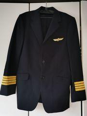 Piloten Uniform Kapitän Schwinge gold