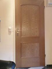 2 Eiche Zimmertüren 86 breit
