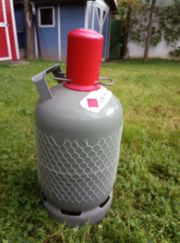 Stahl-Gasflasche für Propangas 5 kg