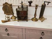 Verschiedene Deko-Teile aus Bronze od