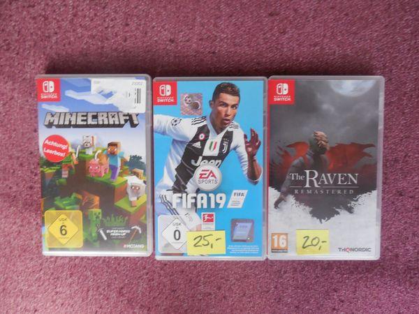 NIntendo Switch Spiele FIFA 19