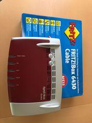 FRITZBox 6430 Cable - Neuwertig