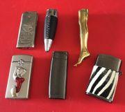 8 verschiedene ausgefallene Feuerzeuge Versand