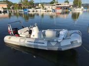 Schlauchboot Festrumpfboot Zodiac mit Bodenseezulassung
