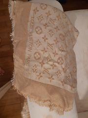 Louis Vuitton Schal Tuch Beige