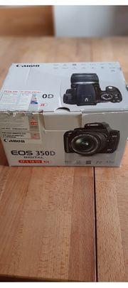 Canon Eos 350D Spiegelreflexkamera defekt