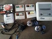 Super Nintendo 5 Spiele Super
