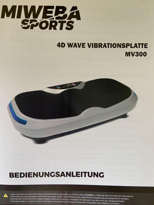 MIWEBA SPORTS 4D WAVE VIBRATIONSPLATTE