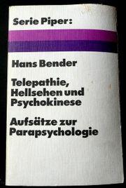 Telepathie Hellsehen und Psychokinese - von