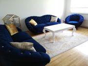 Sitzgarnitur in Samt couch