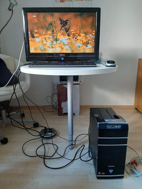 Multimedia-PC plus TV-Bildschirm an PC-Bastler