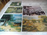 5 große Kunstdrucke nach Motiven
