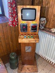 Spielautomat aus der Dm Zeit