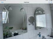 2 Badspiegel mit Beleuchtung auch
