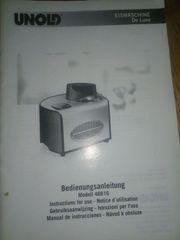 Verkaufe UNOLD Eismaschine De Luxe