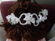Haarschmuck Haarkranz Blumenkranz Taufe Hochzeit