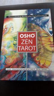 tarotkarten zen osho mit instruktionsbuch
