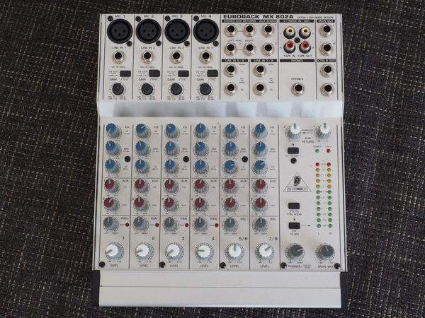 Behringer Eurorack MX 802A