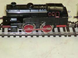 Modelleisenbahnen - Fleischmann Uhrwerk-Eisenbahn