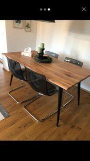 Esstisch Stühle ohne Tisch