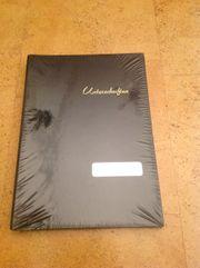 Unterschriftenbuch-Leinen