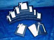 12 x Schmuck Geschenkboxen Papier