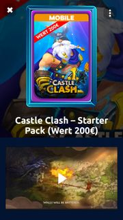 Castle Clash Starter Paket