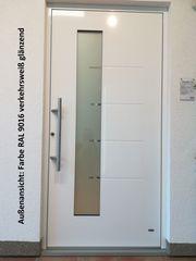 Aluminium-Haustür Ausstellungsstück Nr 16