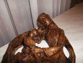 Sonstige Antiquitäten - Maria Kind Relief 40cm Wandbild