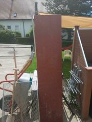 Beschichtete Bole Schaltafel 200x45x4 gebraucht