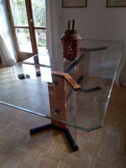 Haushaltsauflösung Esstisch Glas