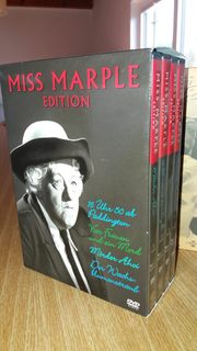 Miss Marple Box 4 DVDs