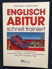 Buch Englisch Abitur schnell trainiert -