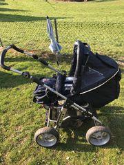 Schöner Hartan Kinderwagen Buggy umbaubar