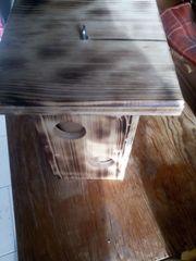 Verkaufe Futterhäuschen aus Holz