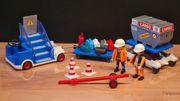 Playmobil Flughafen Cargo- und Treppenfahrzeug