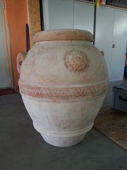 original italienischer Terracotta Krug Anfora