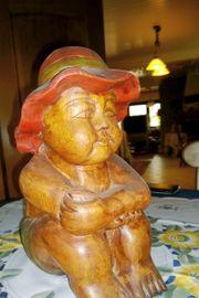 Holzfiguren aus Thailand
