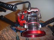 Fotoapparat Olympus 8080 mit Unterwassergehäuse