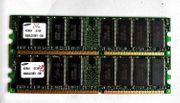 2x Samsung 256 mb RAM