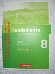 Fundamente der Mathematik 8 Hessen