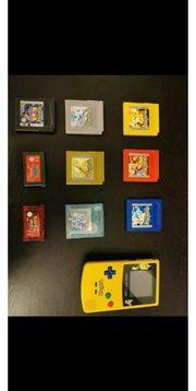Gameboy Color und Pokemon Spiele