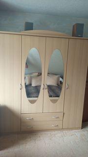 Kleiderschrank mit 2 Spiegeln in