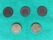 Reichspfennig Münzen aus Serie 1924-1936