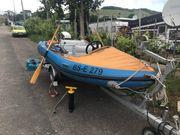 Motorboot Schlauchboot Zephyr 404 mit